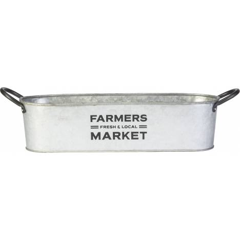 Small Farmer'S Market Oval Planter