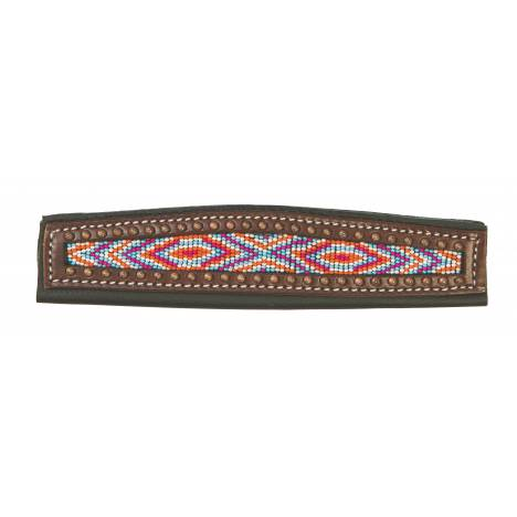 Weaver Livestock Noseband Cover Multi Color Diamond Pattern