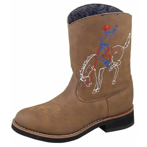 Smoky Mountain Kids Night Horse Boot - Brown Distress