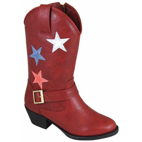 Smoky Mountain Toddler Star Bright Boot - Red