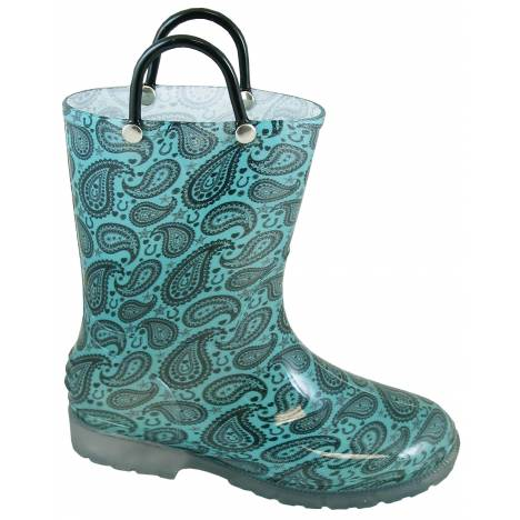 Smoky Mountain Toddler Lightning Boot - Turquoise