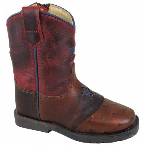 Smoky Mountain Toddler Autry Boot - Red Crackle