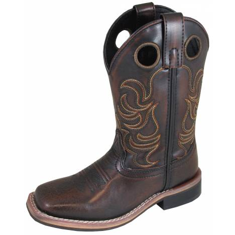 Smoky Mountain Youth Landry Boot - Chocolate