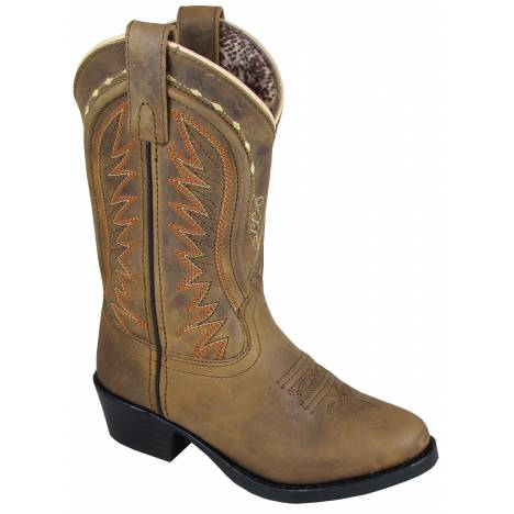 Smoky Mountain Youth Sienna Boot - Tobacco