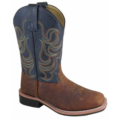 Smoky Mountain Youth Jesse Boot - Brown/Black