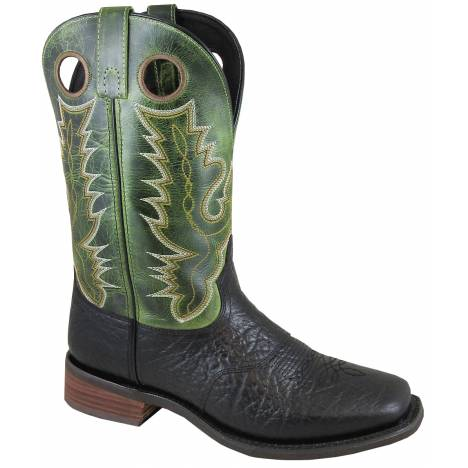 Smoky Mountain Mens Timber Boot - Black/Green