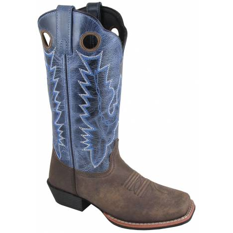 Smoky Mountain Mens Mesa Boot - Brown/Blue