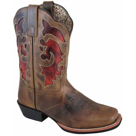 Smoky Mountain Ladies Claire Boot - Brown Waxed