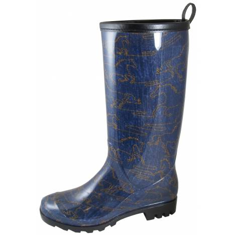 Smoky Mountain Ladies Desoto Boot - Blue