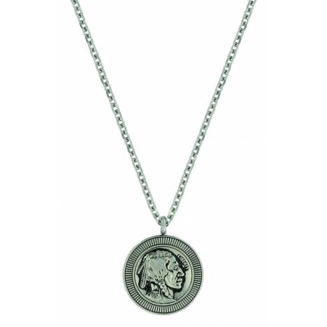 Montana Silver Buffalo Nickel Necklace