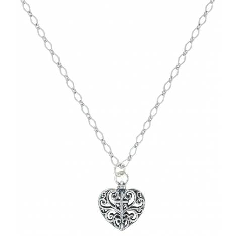 Montana Silver Cross My Heart Necklace