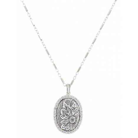 Montana Silver Forevermore Flower Vignette Necklace
