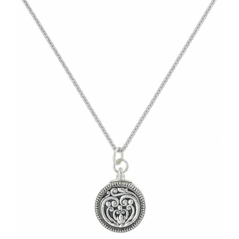 Montana Silver Heart's Flame Legacy Locket Necklace