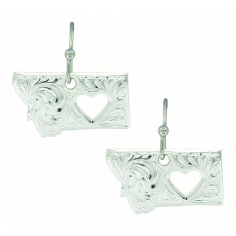 Montana Silver My Heart Belongs in Montana Earrings