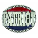 Montana Silver Red, White & Blue Patriot Attitude Buckle
