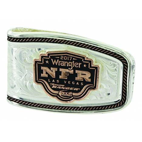 Montana Silver Softly Roped 2017 NFR Money Clip