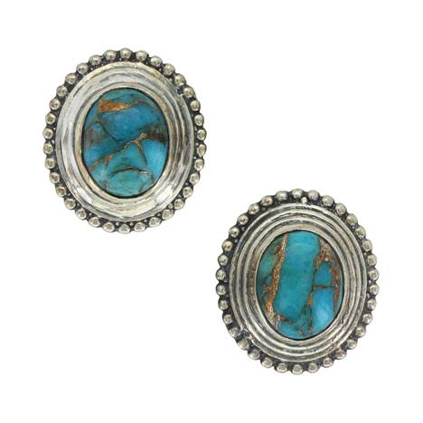 Montana Silver Timeless Beauty Turquoise Post Earrings