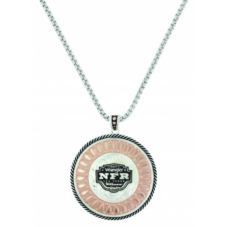 Montana Silver Wide Open Prairie 2017 NFR Concho Necklace
