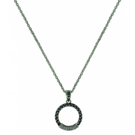 Montana Silver Woven Wheat Braid Necklace
