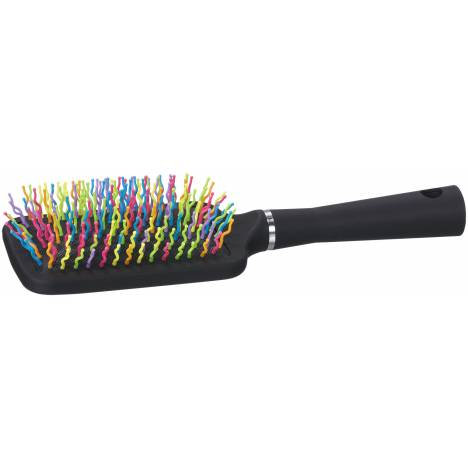 Tough-1 Rainbow Bristle Mane/Tail Brush