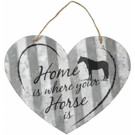 "Heart Sign 5"" - Home Is Where Horse"