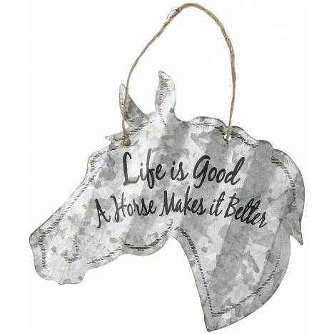 """Horse Sign 5"""" - Life Is Good"""