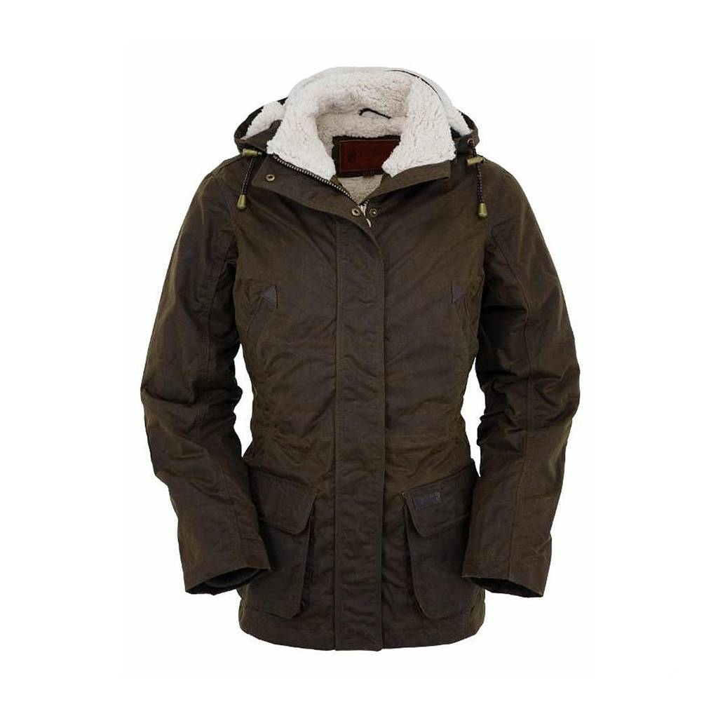 Outback Trading Ladies Oilskin Woodbury Jacket