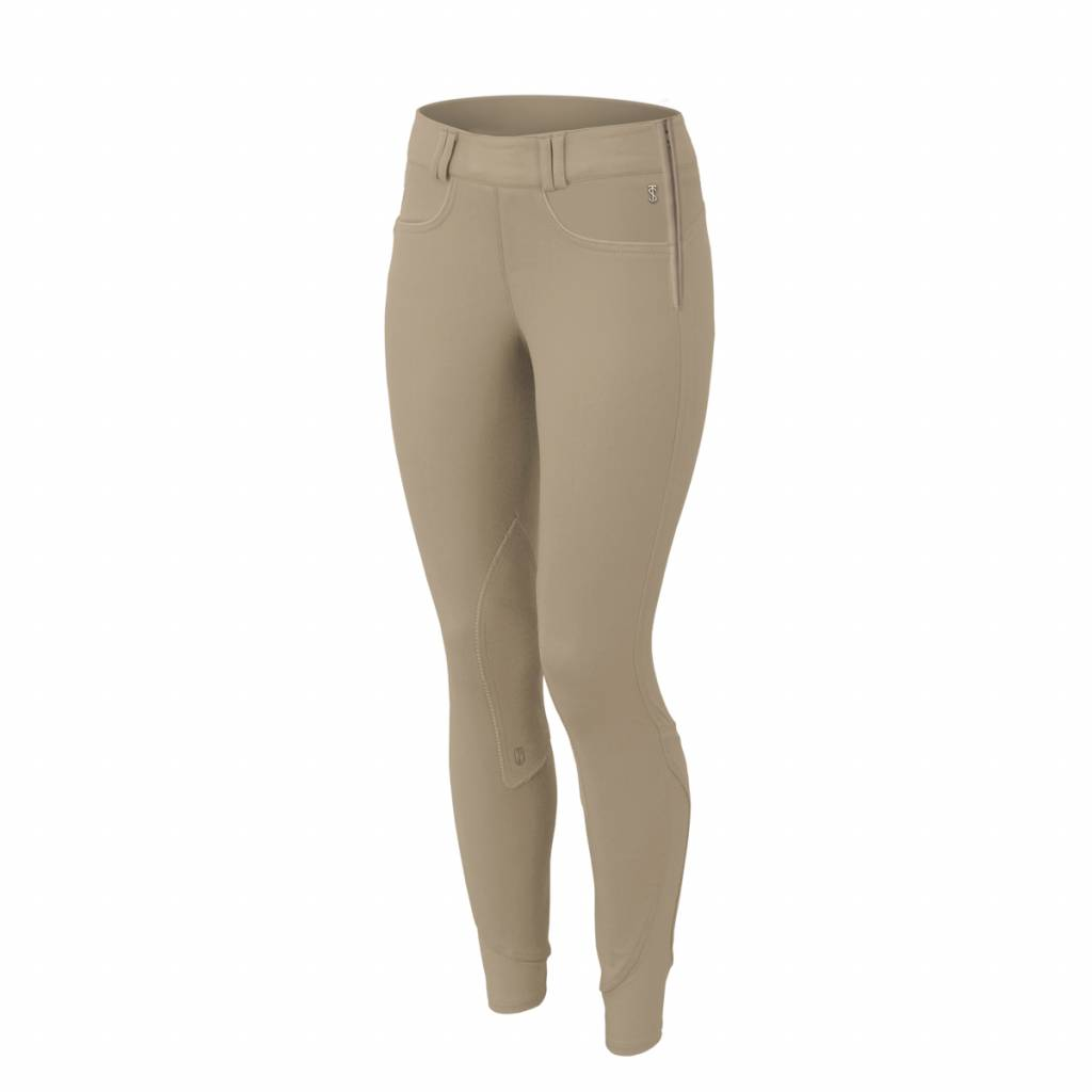 Tredstep Ladies Symphony Rosa II Side Zip Knee Patch Breeches