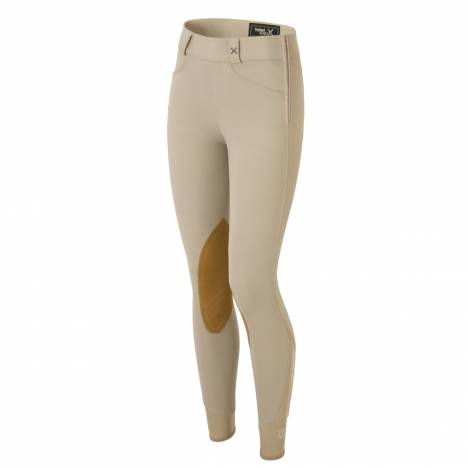 Tredstep Ladies Solo Hunter Pro Side Zip Knee Patch Breeches