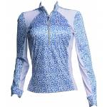 Fits Ladies Sea Breeze Long Sleeve Tech Shirt - Bleu Isles