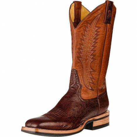 Rod Patrick Kango Tobacco Smooth Quill Ostrich RPM129 Boots