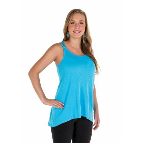 Noble Outfitters Ladies Madeline Lace Up Tank