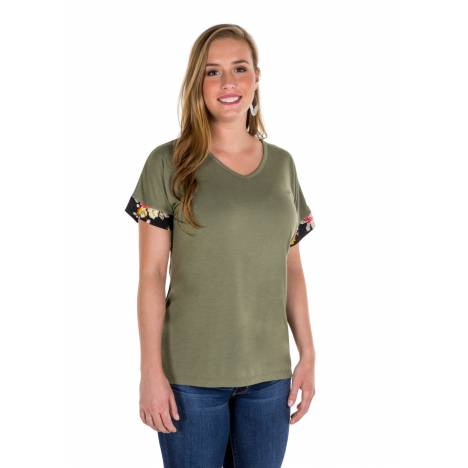 Noble Outfitters Ladies Sophia Short Sleeve Top