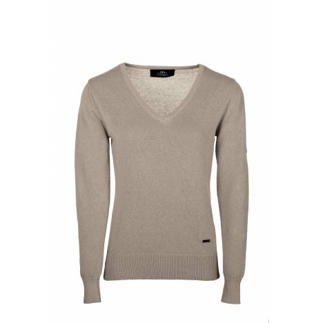 Horseware Ladies V-neck Sweater with Buttons