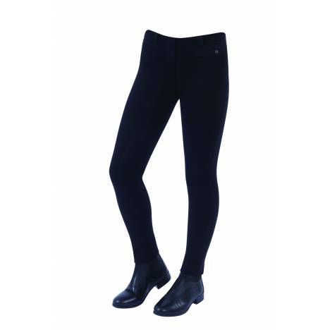Dublin Kids' Supa Fit Pull On Knee Patch Stirrup Jodhpurs