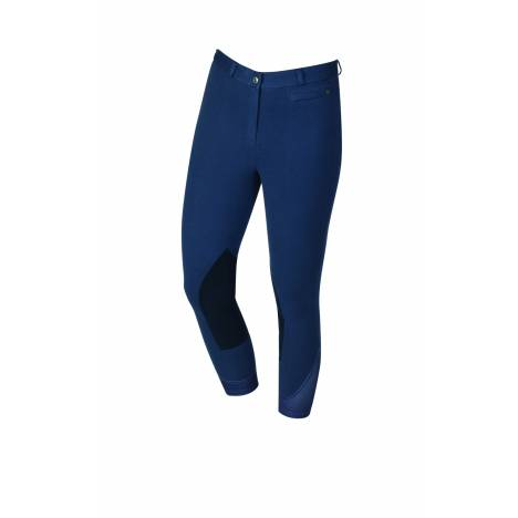 Dublin Ladies Supa-Fit Zip Up Suede Knee Patch Breeches