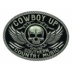 Montana Silversmiths Cowboy Up Southern Country Attitude Buckle