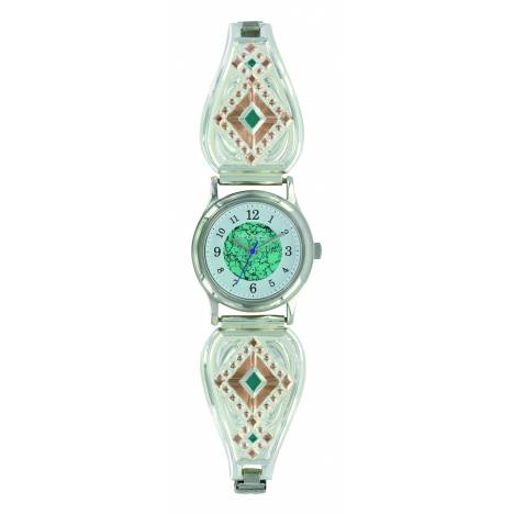 Montana Silversmiths Two Tone Southwestern Beats Expansion Watch