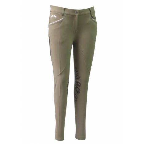 Equine Couture Ladies Lille Knee Patch Breeches