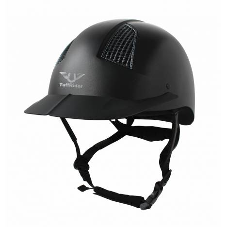 Tuffrider Starter Horse Riding Helmet With Carbon Fiber