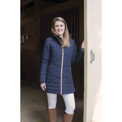Shires Aubrion Ladies Delaware Long Padded Coat