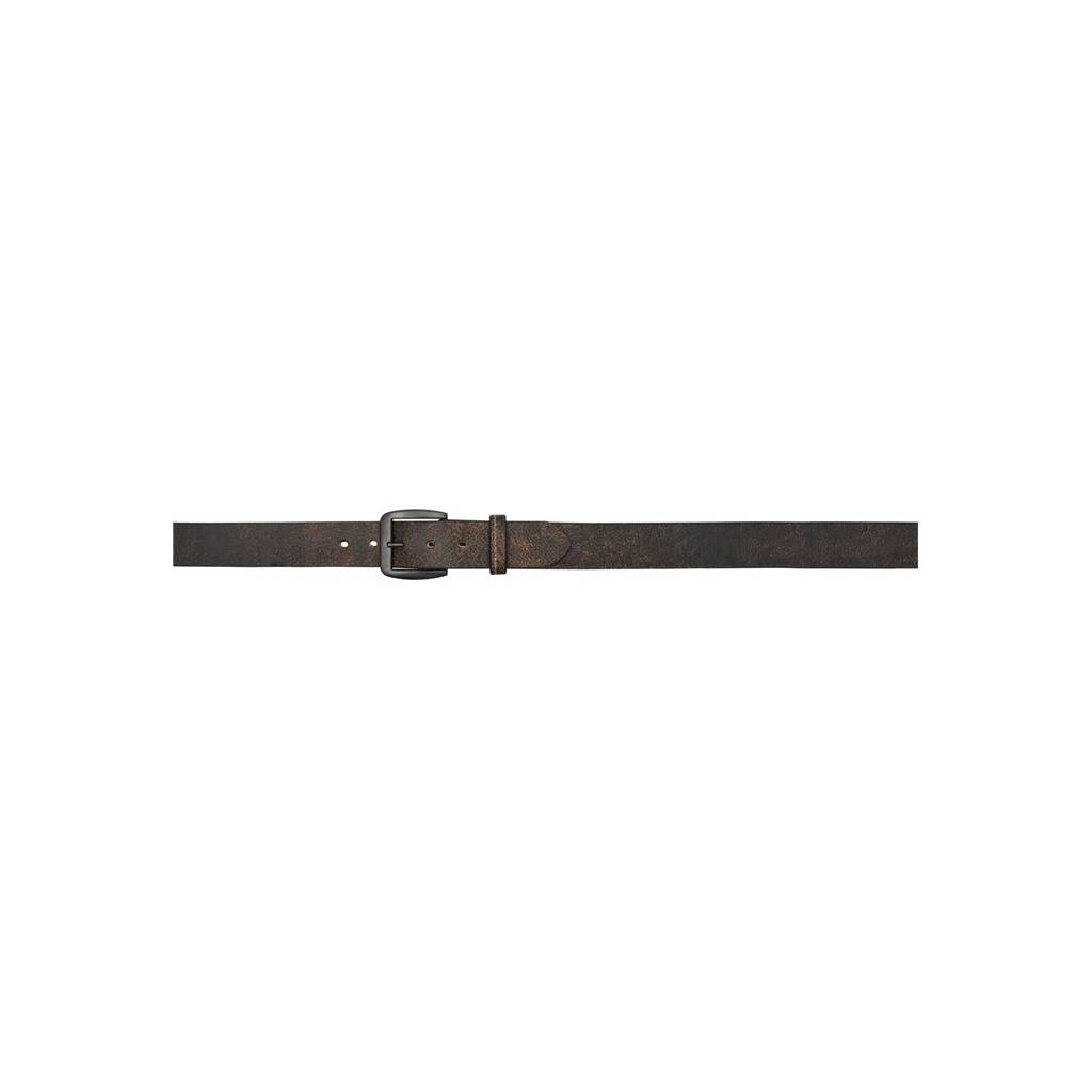 "3D Men's 1 1/2"" Crackle Western Fashion Belt - Black/Brown"