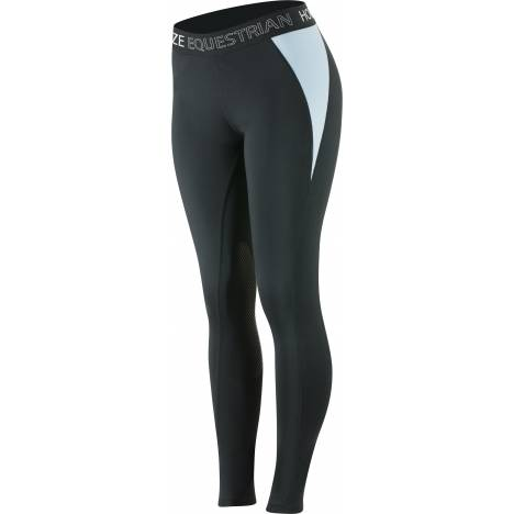 Horze Ladies Madison Silicone Knee Patch Tights
