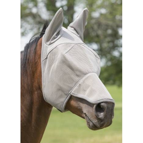 Weaver Nose and Ear Covered Fly Masks with Xtended Life Closure System