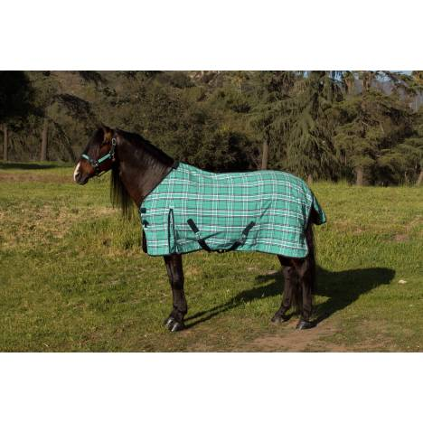 Kensington SureFit Plaid Cotton Day Sheet