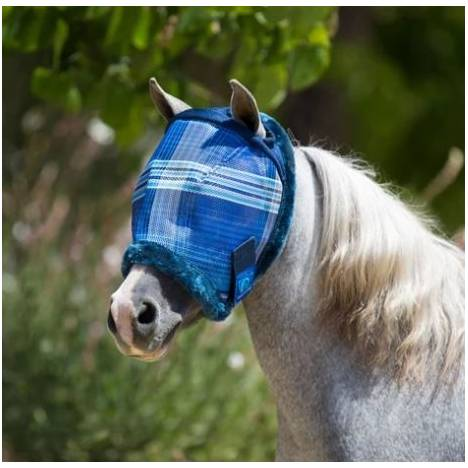 Kensington Miniature Fly Mask with Ear Opening and Fleece Trim