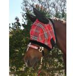 Kensington Miniature Fly Mask With Ears & Fleece Trim