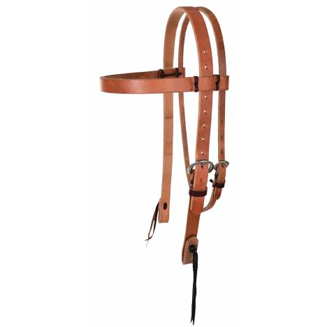 "Reinsman Hermann Oak 1"" Heavy Duty Browband Headstall"