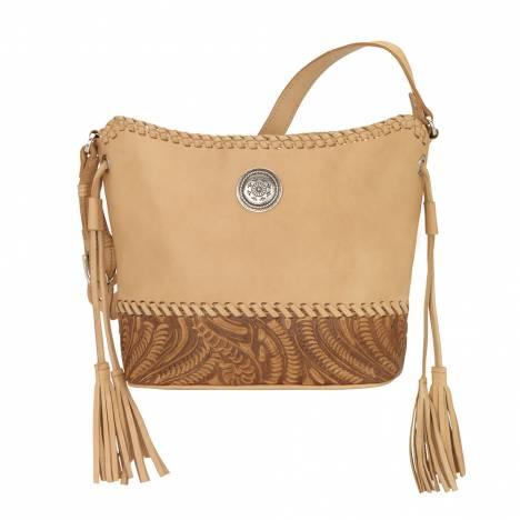 American West Baja Escape Zip Top Bucket Tote