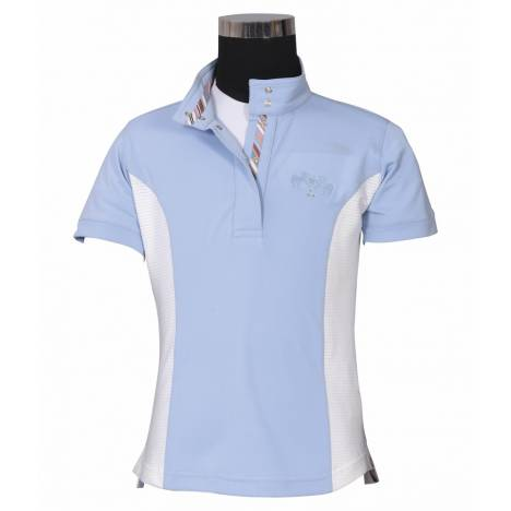 Equine Couture Kid's Cara Short Sleeve Show Shirt